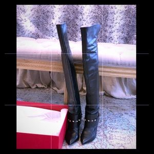 Valentino Thigh High Boots